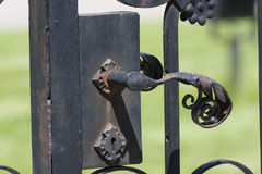 Close Up old Fence Decoration Royalty Free Stock Photography