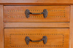 Close-up of an old  furniture Royalty Free Stock Image