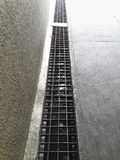 Close up of old grate on the floor. For design In the media royalty free stock photos