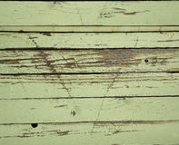 Close up on old green texture. Close up on old green wood texture Stock Image