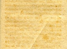 Close-up of old grunge paper texture Royalty Free Stock Photo