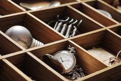 Close up of old objects Royalty Free Stock Image