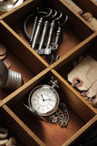 Close up of old objects Royalty Free Stock Images