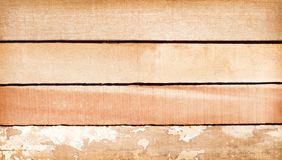 Old  plank wood wall  horizontal shaped patterns for texture or background. Close up Old  plank wood wall  horizontal shaped patterns for texture or background royalty free stock photo