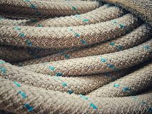 Close up of old rope Stock Photos