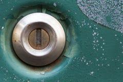 Close up of old rusty car door Stock Photos
