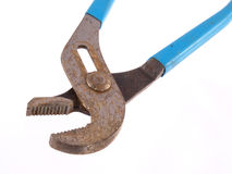 Close up of  old rusty pliers Stock Photo