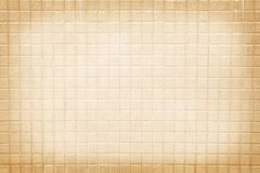 Old small ceramic tile wall patterns background royalty free stock photography