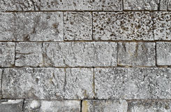 Close up of old stone masonry Stock Photos