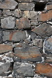 Close-up of old stone wall Stock Photos