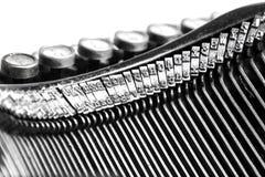 Close-up of old typewriter Royalty Free Stock Photo