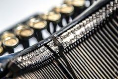 Close-up of old typewriter Royalty Free Stock Photos