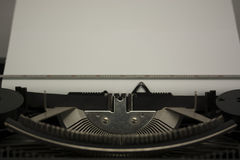 Close up of an old typewritter Royalty Free Stock Image