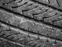 Close up of old tyre Royalty Free Stock Images