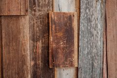 Old vintage wood texture background. Royalty Free Stock Images