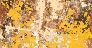 Close up of old wall Texture stock footage