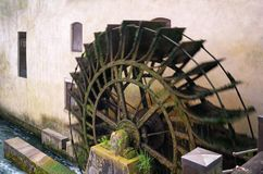 Old Watermill in Action Royalty Free Stock Image