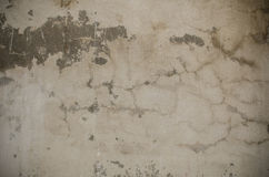 Close up old weathered white concrete wall texture Stock Images