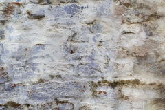 Close up old white brick wall texture Stock Images