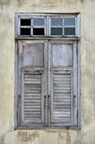 Close up of old window Royalty Free Stock Image
