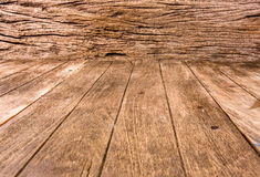 Close up old wood plank Royalty Free Stock Photos