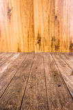 Close up old wood plank Stock Images