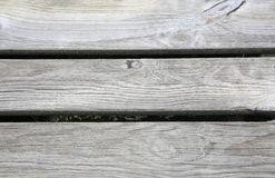 Close up of old wooden bridge floor Royalty Free Stock Photo