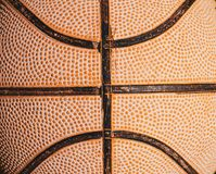 Old Basketball Close up Royalty Free Stock Photo