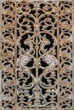 Close up of an old wrought iron door Stock Photography