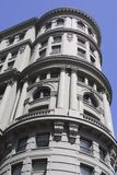 Close-up of older San Francisco building Royalty Free Stock Photography