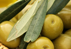 Close up of Olives Stock Photo