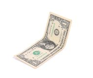 Close up of one dollar banknote. Stock Photography