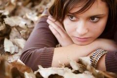Close-up op meisje royalty-vrije stock afbeeldingen