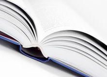 Close Up Open Book Royalty Free Stock Image