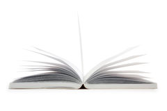 close up open book  isolated Stock Images