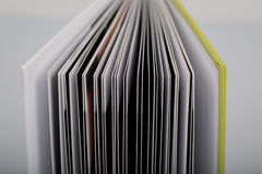 Close-up of a open book Royalty Free Stock Photography