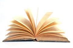 Close up a open book Stock Photos