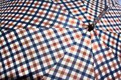 Close Up Of Open Retro Patterned Umbrella 4 Stock Photos