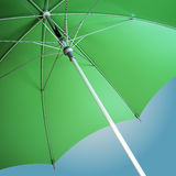 Close-up of an open umbrella Royalty Free Stock Images