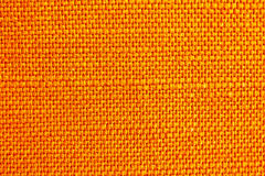 Close up of orange fabric texture Stock Photo