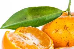 Orange flesh Stock Images