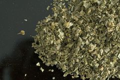 Close-up oregano pile Stock Photo