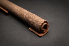 Close up of Organic Cinnamon stick. Royalty Free Stock Photo