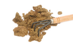 Close up Organic Fertilizer for plantation Royalty Free Stock Photography