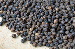 Close- Up of Organic Peppercorns. royalty free stock photography