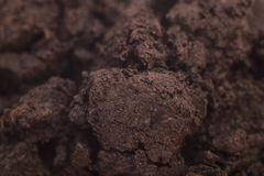 Close-up of organic soil Royalty Free Stock Image