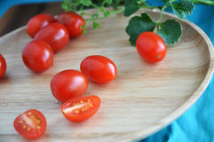 Close up organic tomato Royalty Free Stock Photography