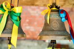 Close-up of orthodox bells Royalty Free Stock Images