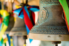 Close-up of orthodox bells Royalty Free Stock Image