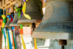 Close-up of orthodox bells Royalty Free Stock Photography